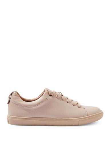 Topshop Coffee Lace-Up Sneakers-NUDE-EU 38/US 7.5