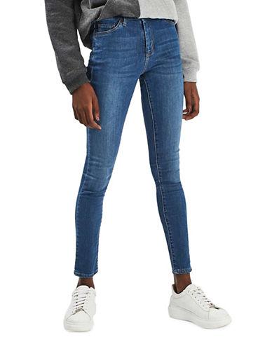 Topshop MOTO Leigh Jeans 30-Inch Leg-BLUE-28X30