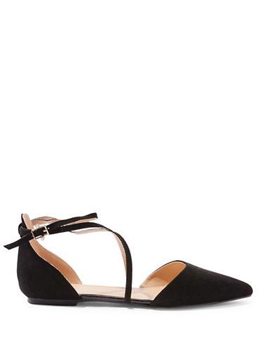Topshop Albany Cross-Strap Sandals-BLACK-EU 38/US 7.5