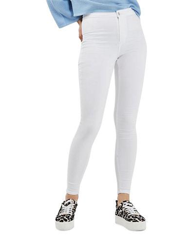 Topshop MOTO Joni Jeans 32-Inch Leg-WHITE-28X32
