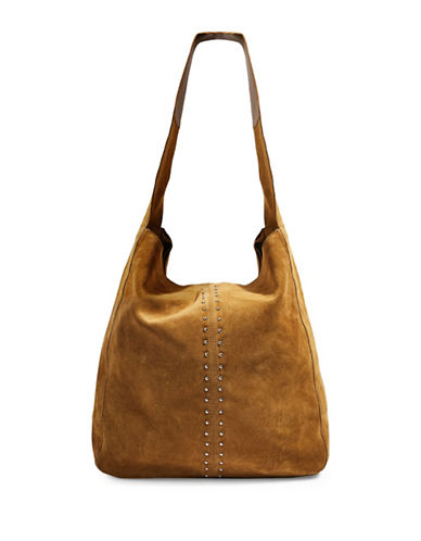 Topshop Sienna Slouch Hobo Bag-TAN-One Size