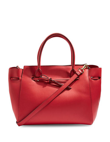 Topshop Betty Holdall Bag-RED-One Size