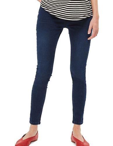 Topshop MATERNITY MOTO Joni Jeans 32-Inch Leg-BLUE-UK 14/US 10