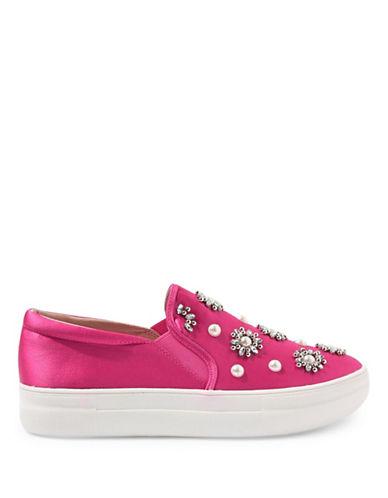 Topshop Tilt Embellished Sneakers-PINK-EU 36/US 5.5