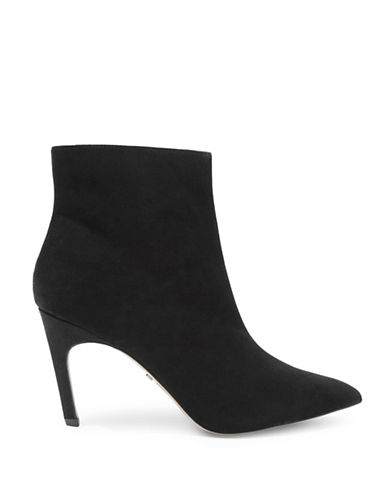 Topshop Hot Toddy Pointed Boots-BLACK-EU 38/US 7.5