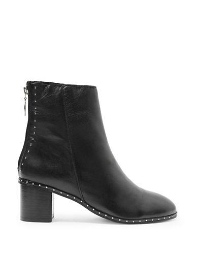Topshop Miranda Studded Boots-BLACK-EU 39/US 8.5