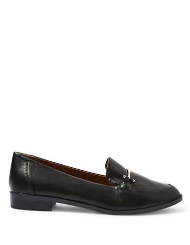 Topshop Lady Loafers-BLACK-EU 40/US 9.5