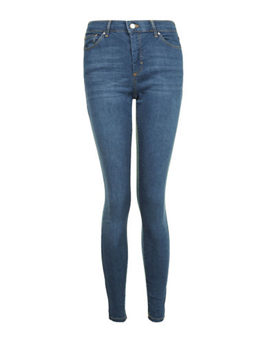 Topshop MOTO Leigh Jeans 30-Inch Leg-DARK STONE-28X30