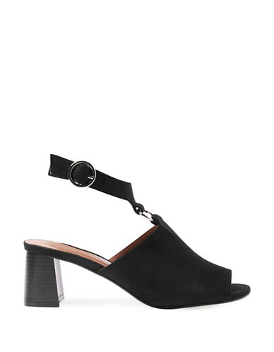 Topshop Dazzle Ring Sandals-BLACK-EU 35/US 4.5