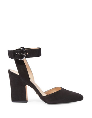 Topshop Grande Mary Jane Heeled Shoes-BLACK-EU 35/US 4.5
