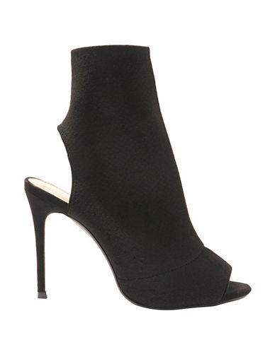 Topshop Madame Sock Boots-BLACK-EU 40/US 9.5