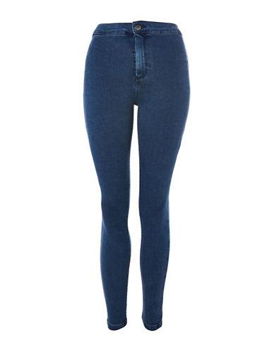 Topshop PETITE Hold Power Joni Jeans 28-Inch Leg-INDIGO-26X28