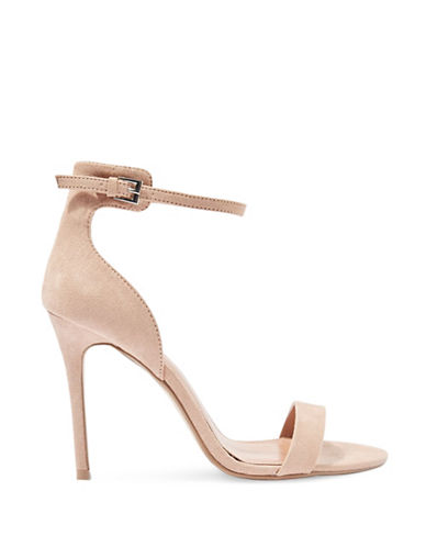 Topshop Marcelle Two-Part Sandals-NUDE-EU 37/US 6.5