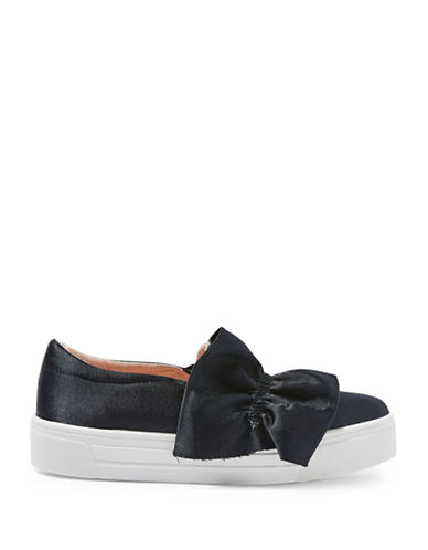 Topshop Tawny Ruffle Sneakers-NAVY BLUE-EU 38/US 7.5