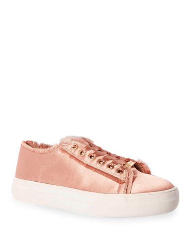 Topshop Caramel Flatform Sneakers-NUDE-EU 37/US 6.5
