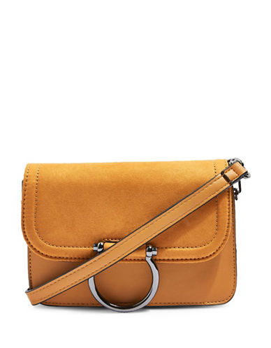 Topshop Remy Crossbody Bag-MUSTARD-One Size