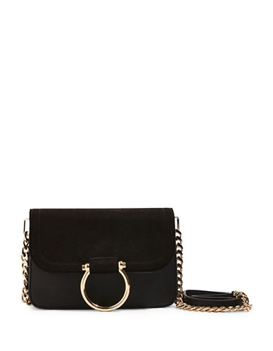 Topshop Remy Crossbody Bag-BLACK-One Size