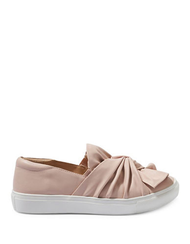 Topshop TWISTED Slip On Trainers-NUDE-EU 40/US 9.5