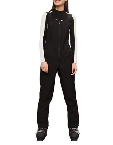 Topshop Shadow All-in-One Ski Suit-BLACK-UK 8/US 4