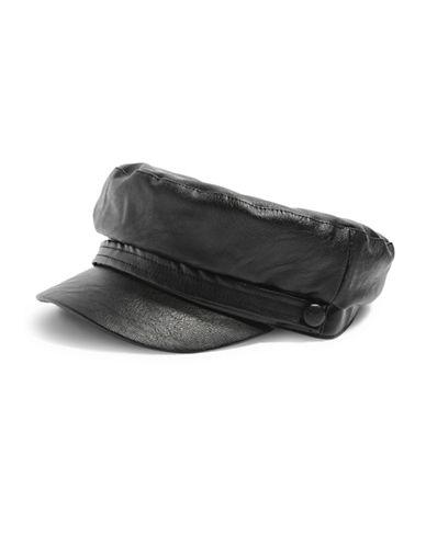 Topshop Baker Boy Hat-BLACK-One Size