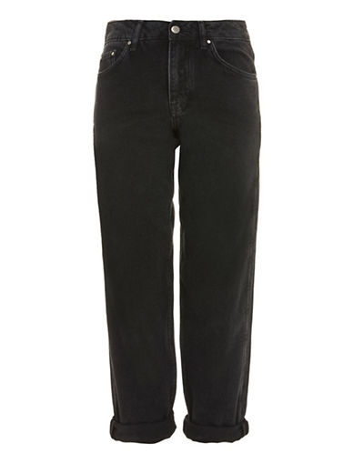 Topshop Boyfriend Jeans by Boutique-BLACK-UK 12/US 8