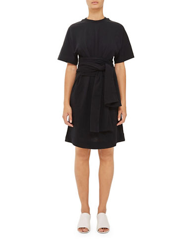 Topshop Wrap Jersey Dress by Boutique-BLACK-UK 10/US 6