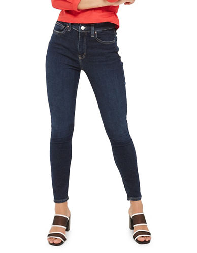 Topshop MOTO Jamie Jeans 30-Inch Leg-INDIGO-30X30