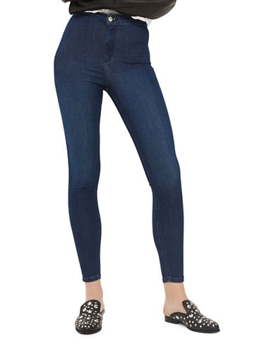 Topshop MOTO Joni Jeans 32-Inch Leg-DENIM-24X32