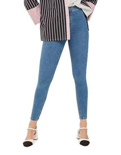 Topshop MOTO Joni Jeans 30-Inch Leg-DENIM-28X30