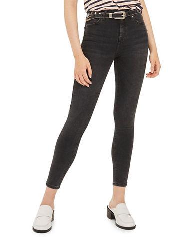 Topshop MOTO Jamie Jeans 32-Inch Leg-BLACK-26X32