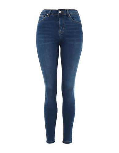 Topshop MOTO Jamie Jeans 32-Inch Leg-INDIGO-30X32