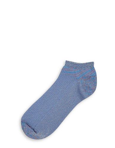 Topshop Three-Pack Glitter Socks-MULTI-One Size