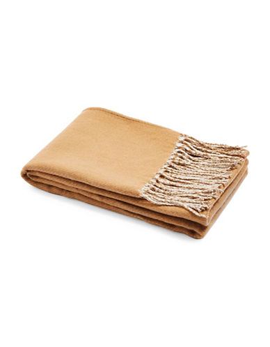 Topshop Double Face Supersoft Scarf-CAMEL-One Size