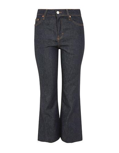 Topshop Moto Raw Hem Dree Jeans-INDIGO-32X30