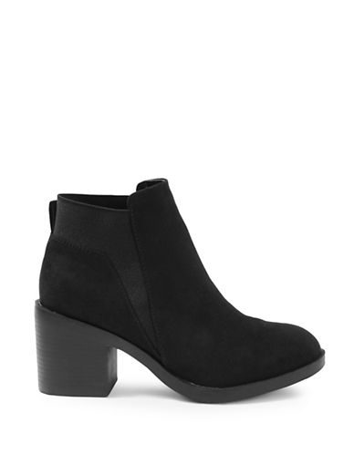 Topshop Buddy Heeled Boots-BLACK-EU 37/US 6.5