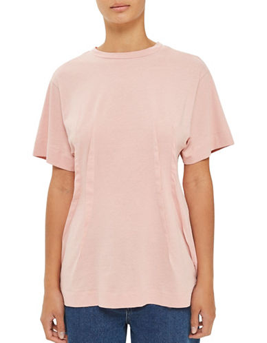 Topshop Tuck Waist T-Shirt by Boutique-PINK-UK 6/US 2