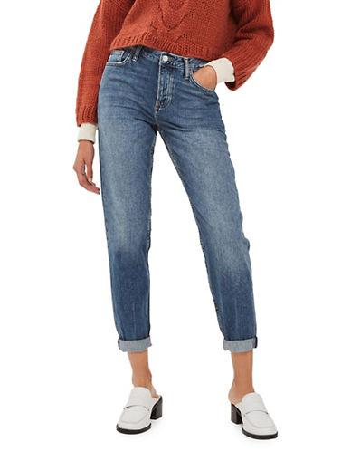 Topshop MOTO Hayden Boyfriend Jeans 30-Inch Leg-DENIM-30X30
