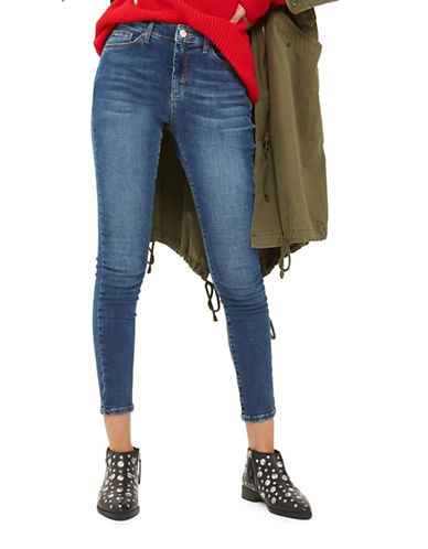 Topshop MOTO Sidney Jeans 30-Inch Leg-DENIM-28X30