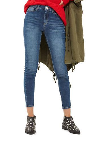 Topshop MOTO Sidney Jeans 32-Inch Leg-DENIM-26X32