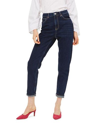 Topshop MOTO Mom Jeans 32-Inch Leg-DARK STONE-32X32
