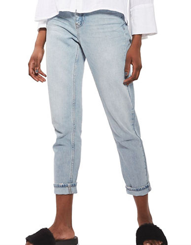 Topshop MOTO Bleach Mom Jeans 30-Inch Leg-BLEACH-26X30