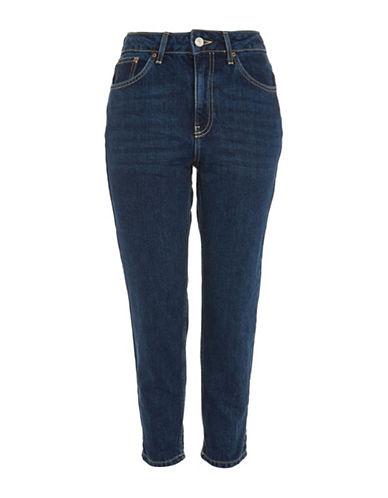 Topshop PETITE Mom Jeans 28-Inch Leg-MID DENIM-24X28