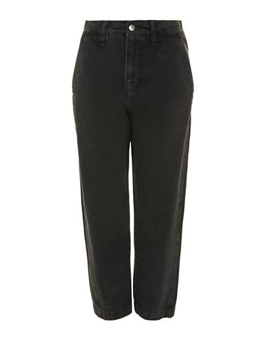 Topshop Displaced Boy Jeans by Boutique-BLACK-UK 10/US 6