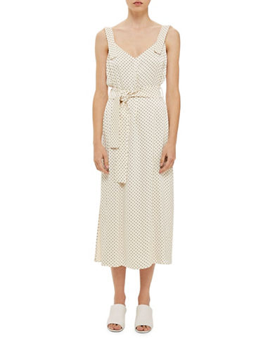 Topshop Polka Dot Slip Dress by Boutique-IVORY-UK 6/US 2