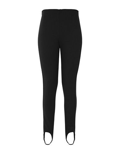 Topshop Stirrup Jodhpurs-BLACK-UK 6/US 2