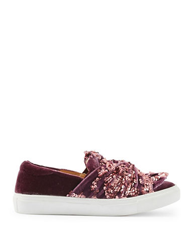 Topshop Twisted Sequined Sneakers-PINK-EU 38/US 7.5