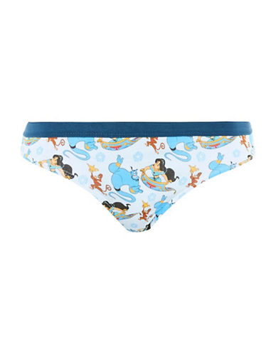 Topshop Disney Aladdin Mini Panties-BLUE-UK 12/US 8