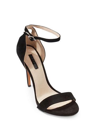 Topshop Raphie Platform Sandals-BLACK-EU 40/US 9.5