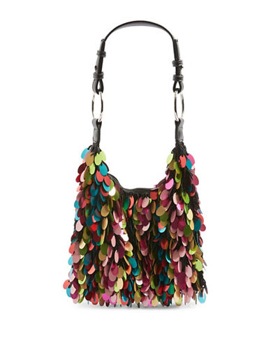 Topshop San Sequin Shoulder Bag-MULTI-One Size