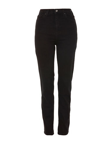 Topshop MOTO Orson Slim Jeans 32-Inch Leg-BLACK-34X30